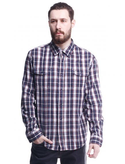 Рубашка Montana 11058 Blue/White