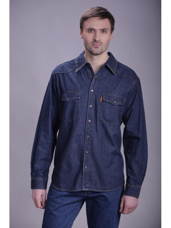 Джинсовая рубашка Montana 12190 SW