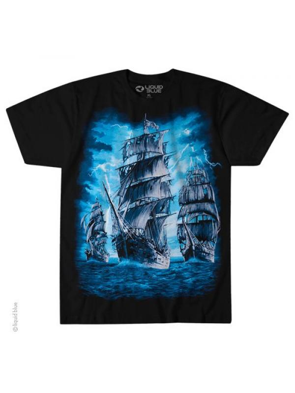 Футболка Liquid Blue PIRATE SHIP 31602