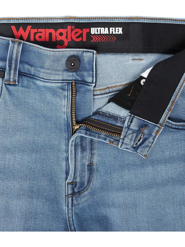 Джинсы Wrangler Ultra Flex Straight Fit Coastal Blue 95UFMCU