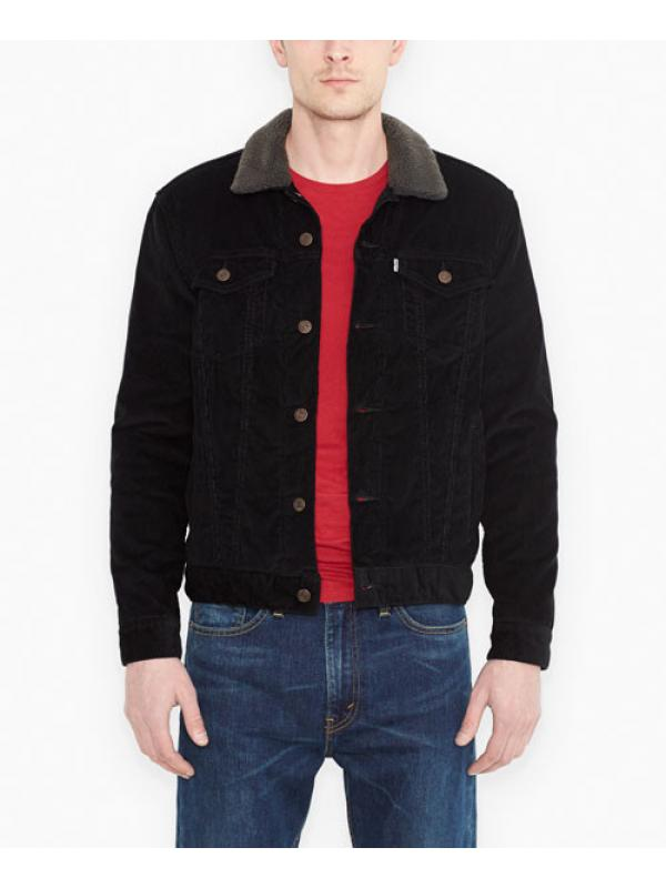 Куртка Levis Sherpa Trucker Jacket Black