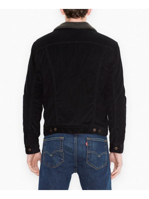 Куртка Levis Sherpa Trucker Jacket Black