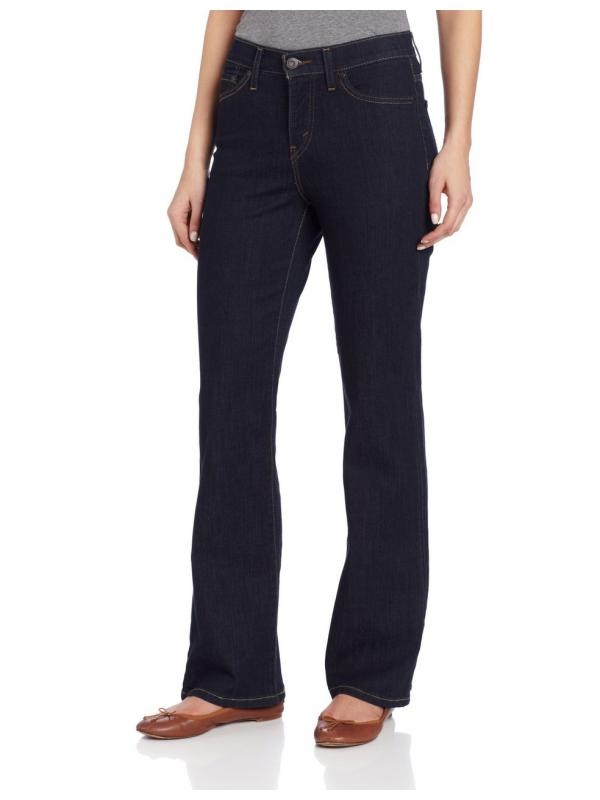Женские джинсы Levis 512 Perfectly Slimming Bootcut Misses Jeans 155121477