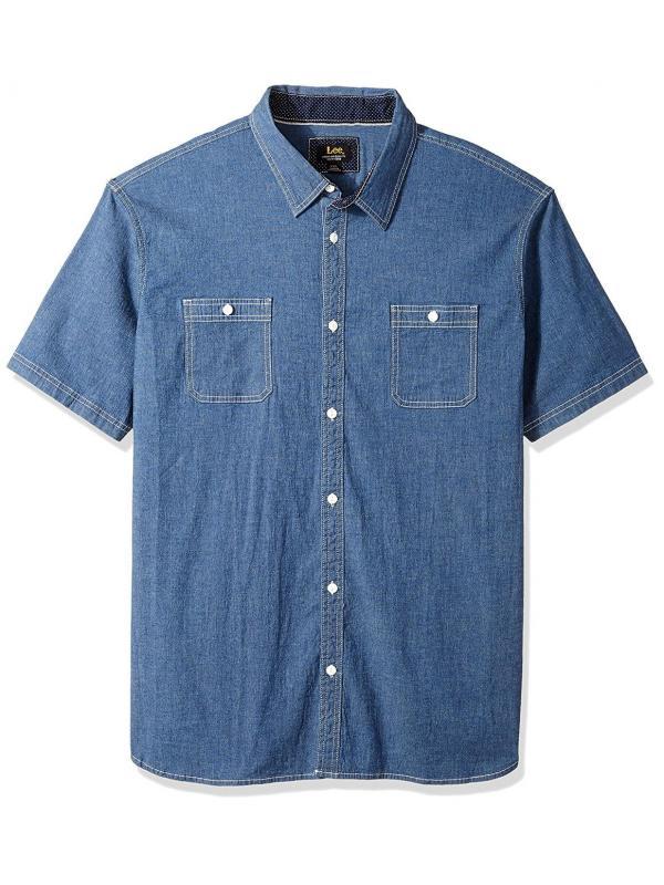 Рубашка с коротким рукавом Lee Mens Camp Shirt LM185N468