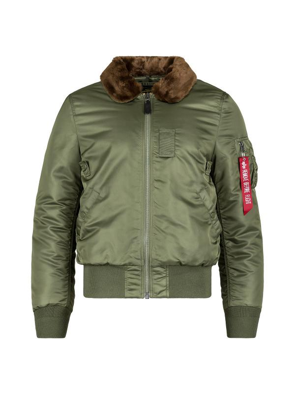 Куртка Alpha Industries B-15 Slim Fit Sage/Brown