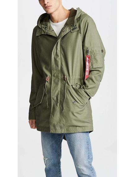Мужская куртка Alpha Industries M-59 Fishtail Parka Olive