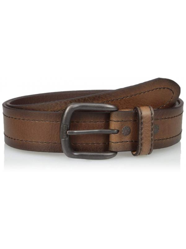 Ремень Levis Mens Casual Belt Brown Stitch 11LV120054