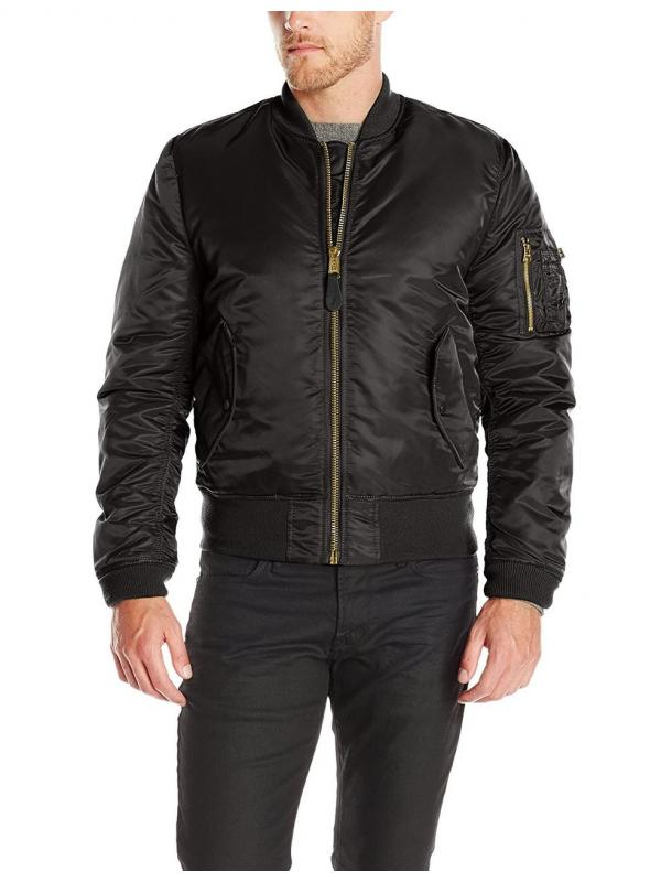 Мужская куртка Alpha Industries MA-1 Slim Fit Black