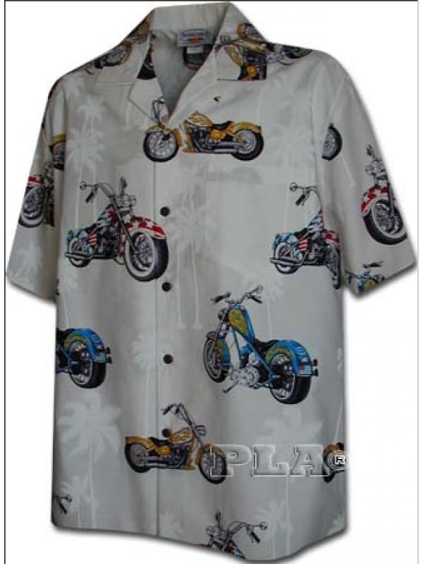 Рубашка гавайка Pacific Legend 442-3630 white