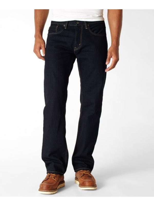LEVIS 559 Relaxed Straight Jeans Rebuilt Dark Indigo new