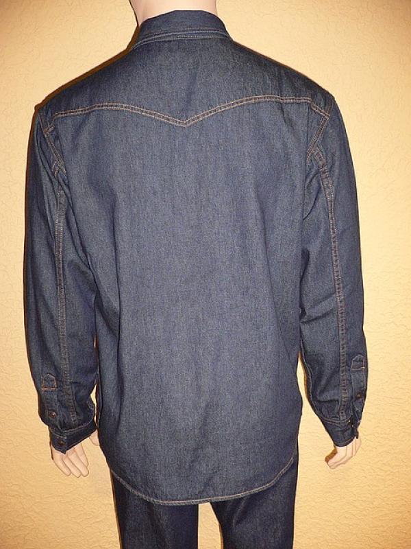 Джинсовая рубашка Montana 50010