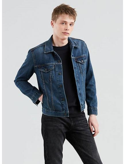 Джинсовая куртка LEVIS The Trucker Jacket Indigo Denim NEW