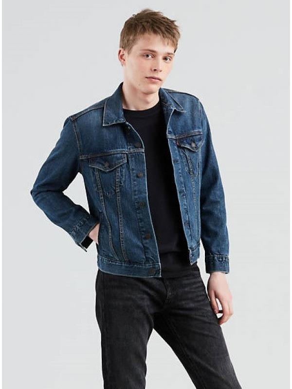 Джинсовая куртка LEVIS The Trucker Jacket Indigo Denim NEW