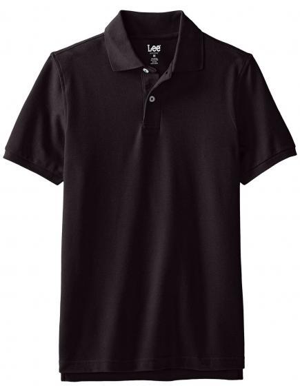 Поло Lee Mens Short-Sleeve Polo Shirt  Black