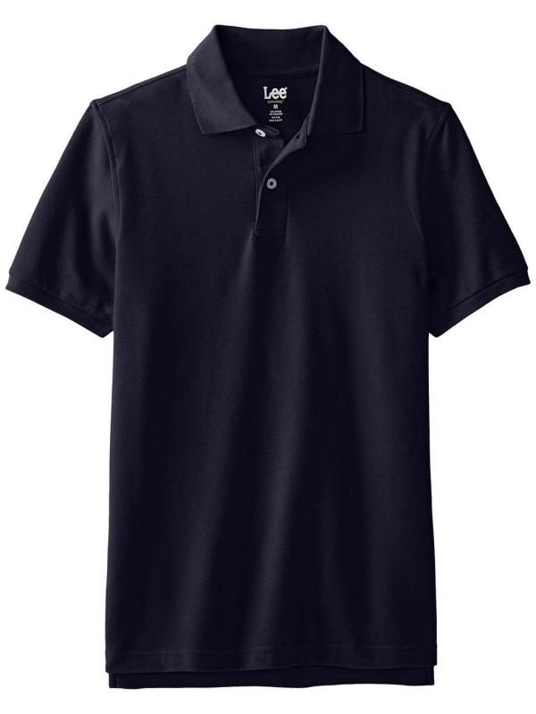 Поло Lee Mens Short-Sleeve Polo Shirt Navy