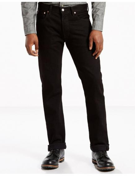 Мужские джинсы Levis Mens 501 Original Fit Jeans Black