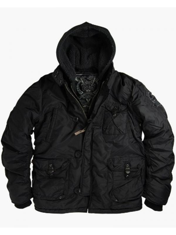 Куртка Alpha Cobbs I I black
