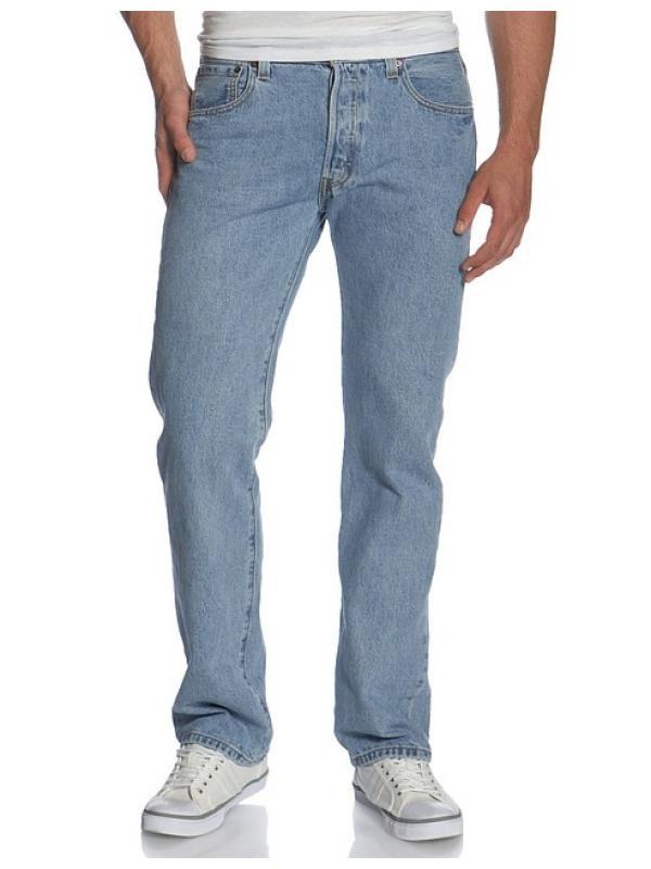 Джинсы Levis  501 Original Fit Jeans Light Stonewash