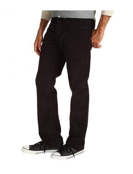 Вельветовые джинсы Levis 514™ Slim Corduroy worn in graphite new