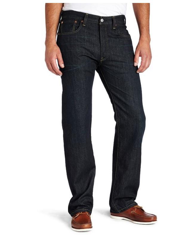 Джинсы Levis 501 Original Fit Jeans Clean Fume
