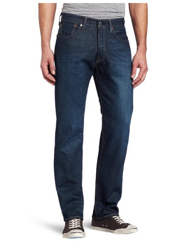 Джинсы мужские Levis 501 Original Fit Jeans Glassy River new