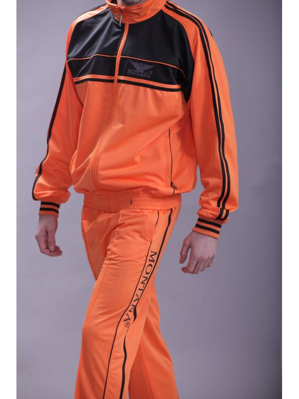Спортивный костюм MONTANA 27051 Orange/Black