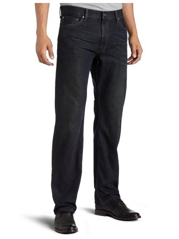 Мужские джинсы LEVIS 559® Straight Jeans  black amped