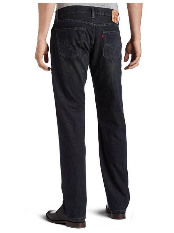 Мужские джинсы LEVIS 559® Straight Jeans  black amped
