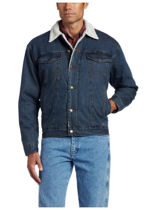Куртка Wrangler Mens Rustic Sherpa Lined Jacket