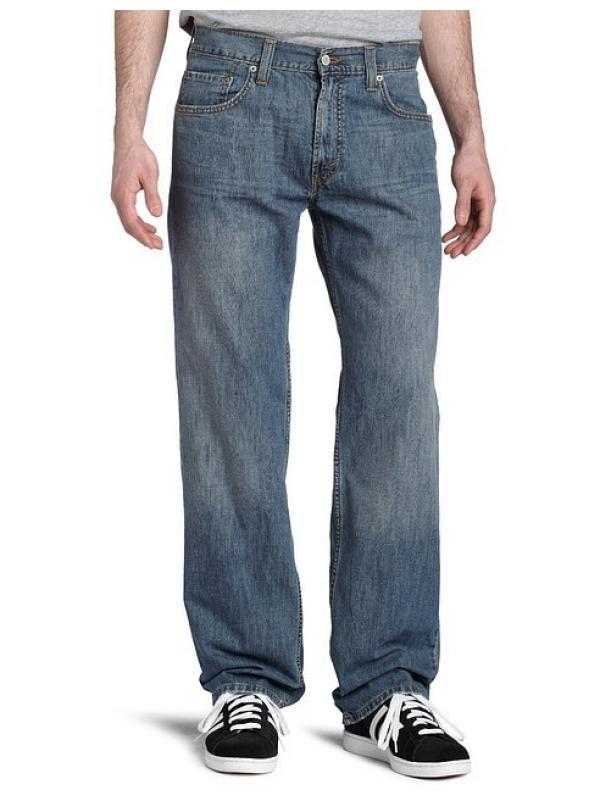 Мужские джинсы LEVIS 559 Relaxed Straight Jeans - medium chipped