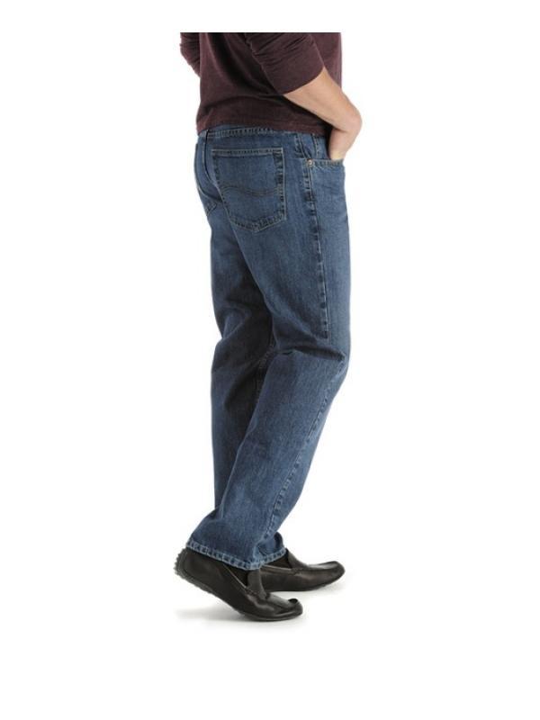 Джинсы Lee Regular Fit Straight Leg Jean - Mens Fit 2008961 sale