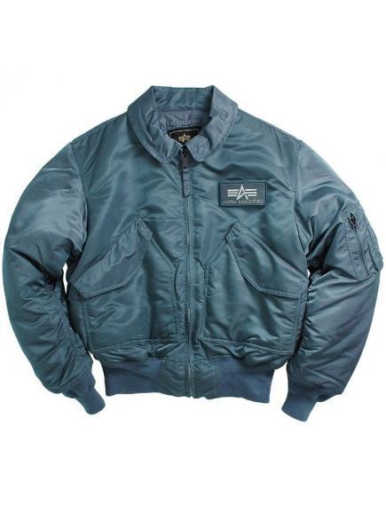Мужская куртка Alpha Industries CWU 45/P Flight Jacket navy