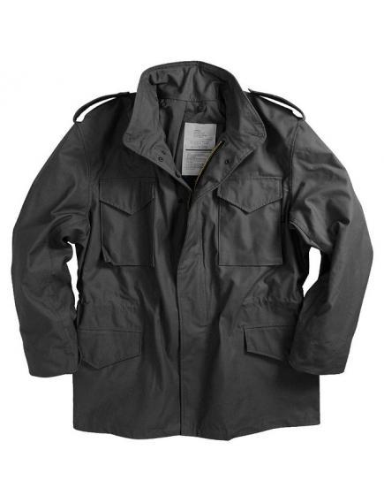 Мужская куртка Alpha Industries M-65 black