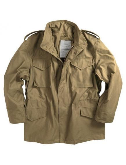 Мужская куртка Alpha Industries M-65 Field Coat khaki