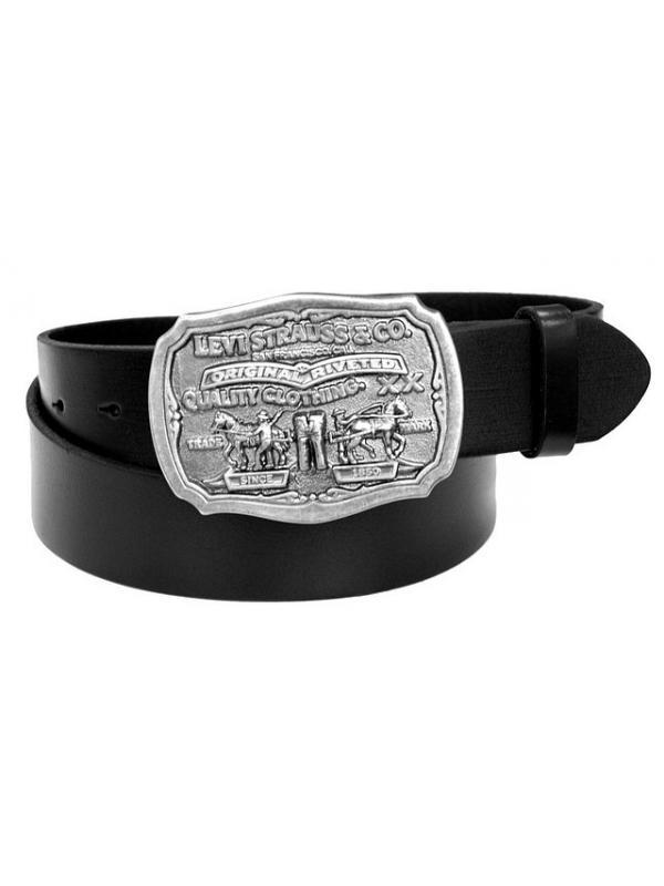 Ремень Levis Mens 40mm Leather Antique Buckle Belt 11lv02P6