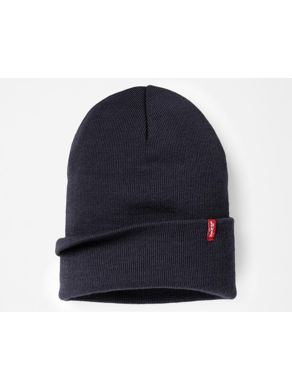 Шапка levis EVERYDAY BEANIE NAVY BLUE