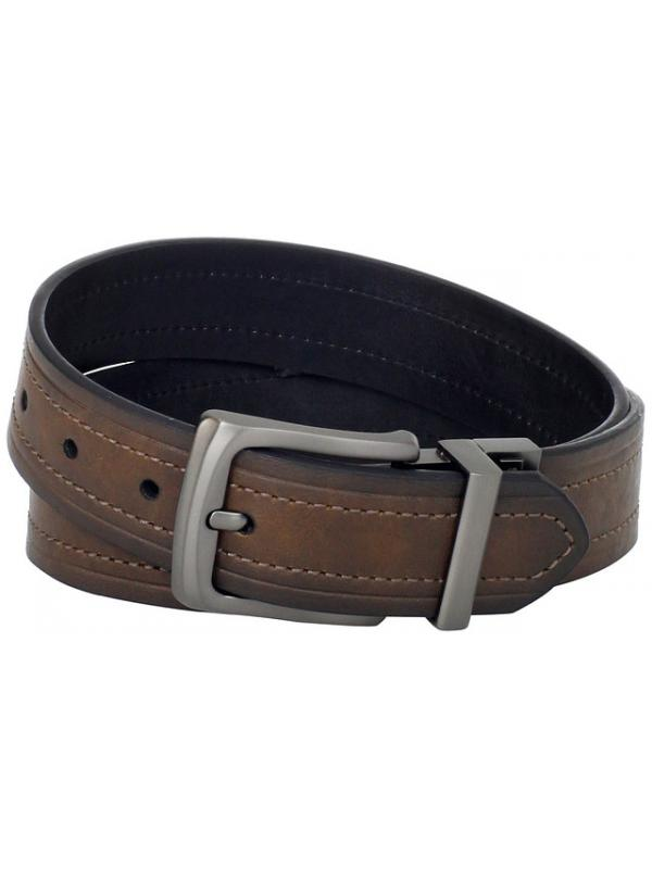 Ремень Levis Mens 40MM Reversible Belt With Gunmetal Buckle 11LV2223