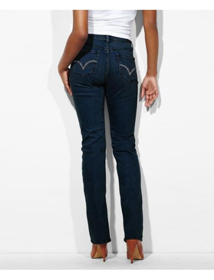 Женские джинсы Levis 512™ Perfectly Slimming Straight Jeans Dark Mineral