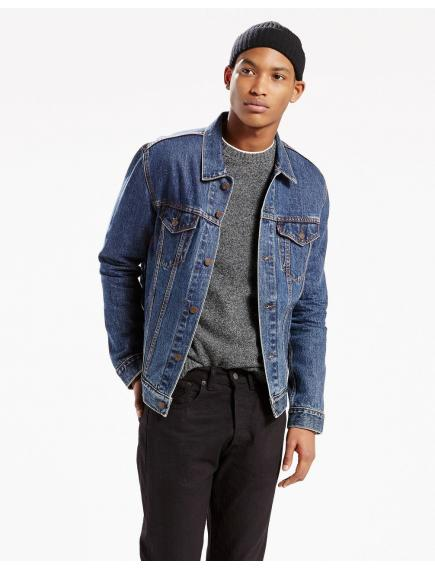 Джинсовая куртка LEVIS The Trucker Jacket Dark Stonewash NEW