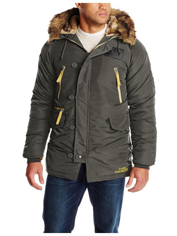 Куртка Alpha N3B Inclement Replica Grey