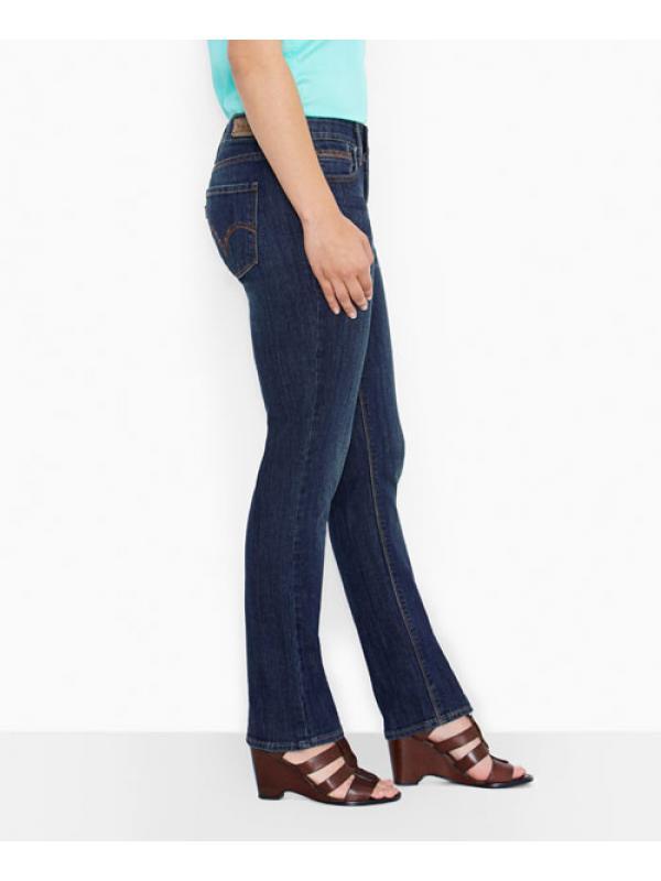 Женские джинсы Levis 525™ Perfect Waist Straight Jeans Sapphire