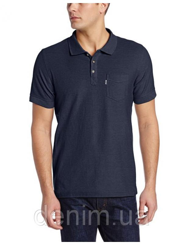 Levis Mens Brillo Pique Polo Dress Blues