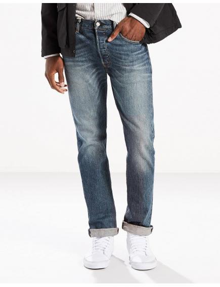 Джинсы мужские Levis 501 Original Fit Stretch Jeans Green Ben