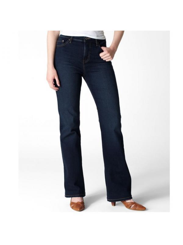 Женские джинсы Levis 512 Perfectly Slimming Misses Jeans — Midnight Star