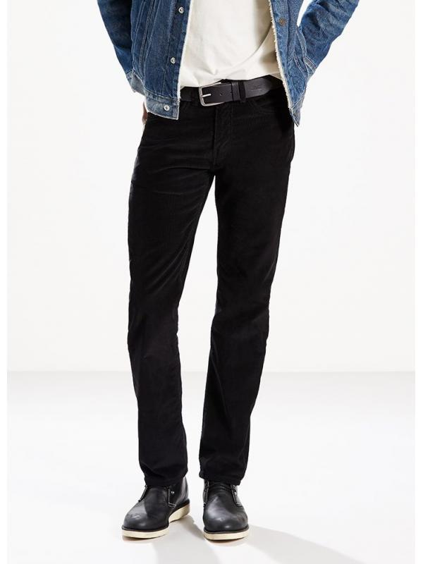 Мужские джинсы LEVIS 505® Straight Jeans  Corduroy Blak