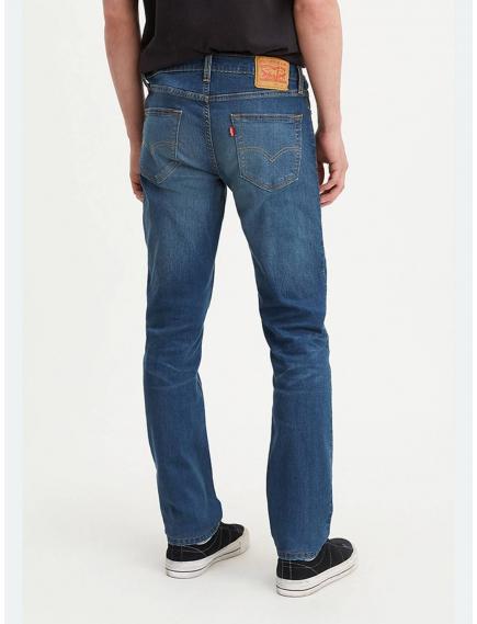 Джинсы мужские LEVIS 511 Slim Fit Cool  Jeans Thyme Super