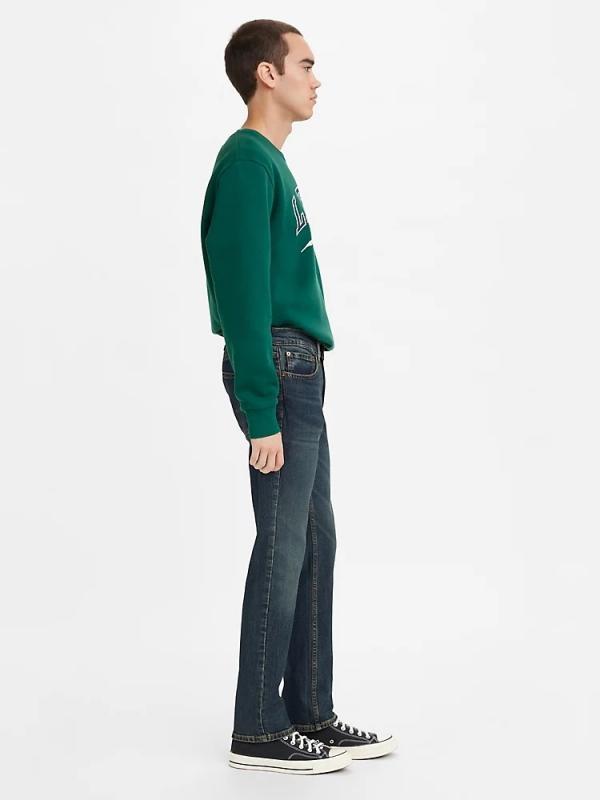 Джинсы мужские LEVIS 511 Slim Fit  Jeans Goth Midnight