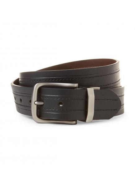 Ремень Levis Black & Brown Reversible Logo Belt 11LP12077