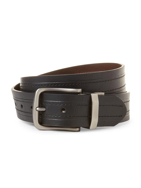 Ремень Levis Black & Brown Reversible Logo Belt 11LP12077