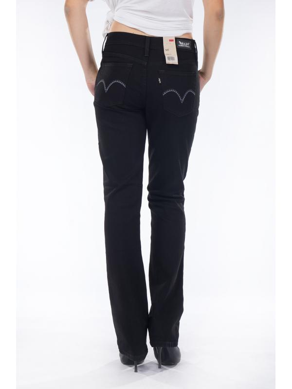 Женские джинсы Levis 505 ™ Straight Fit Jeans Black 155050026